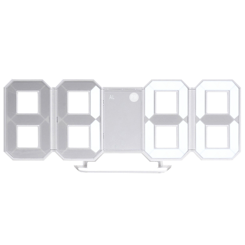 MINI 3D LED 아날로그 시계(벽/탁상)